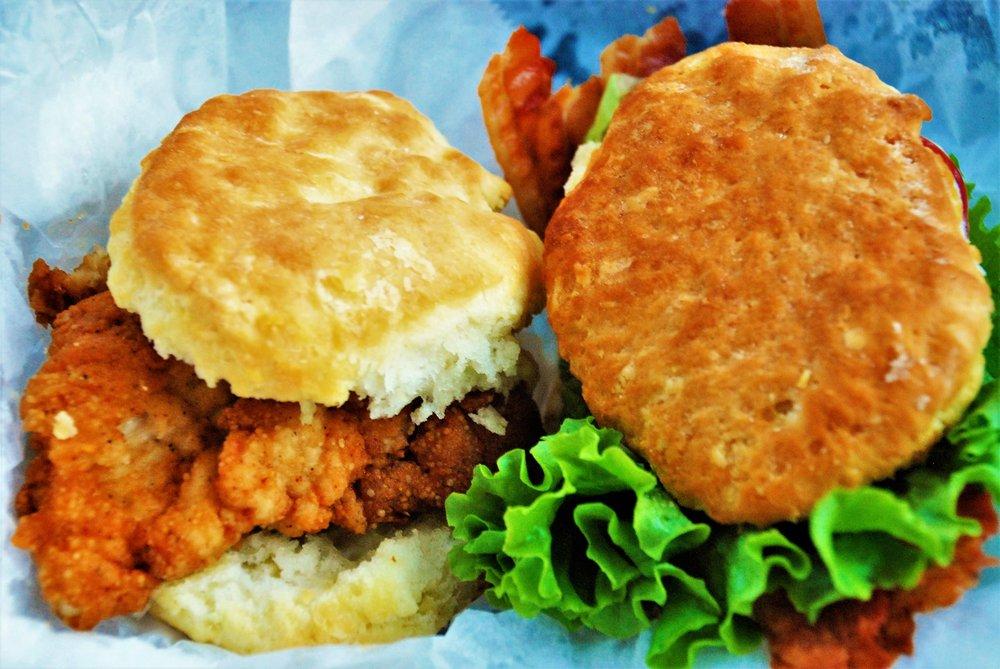 Sunrise Biscuit Kitchen: 208 S Bickett Blvd, Louisburg, NC