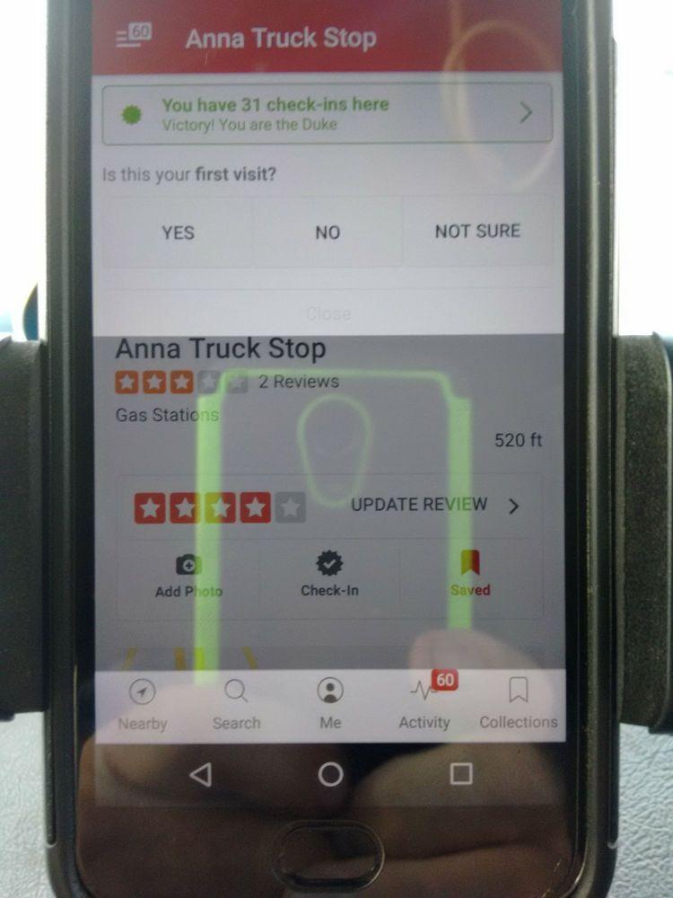 Anna Truck Stop: 14262 SR-119, Anna, OH