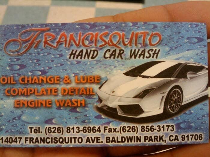 Francisquito Car Wash Baldwin Park