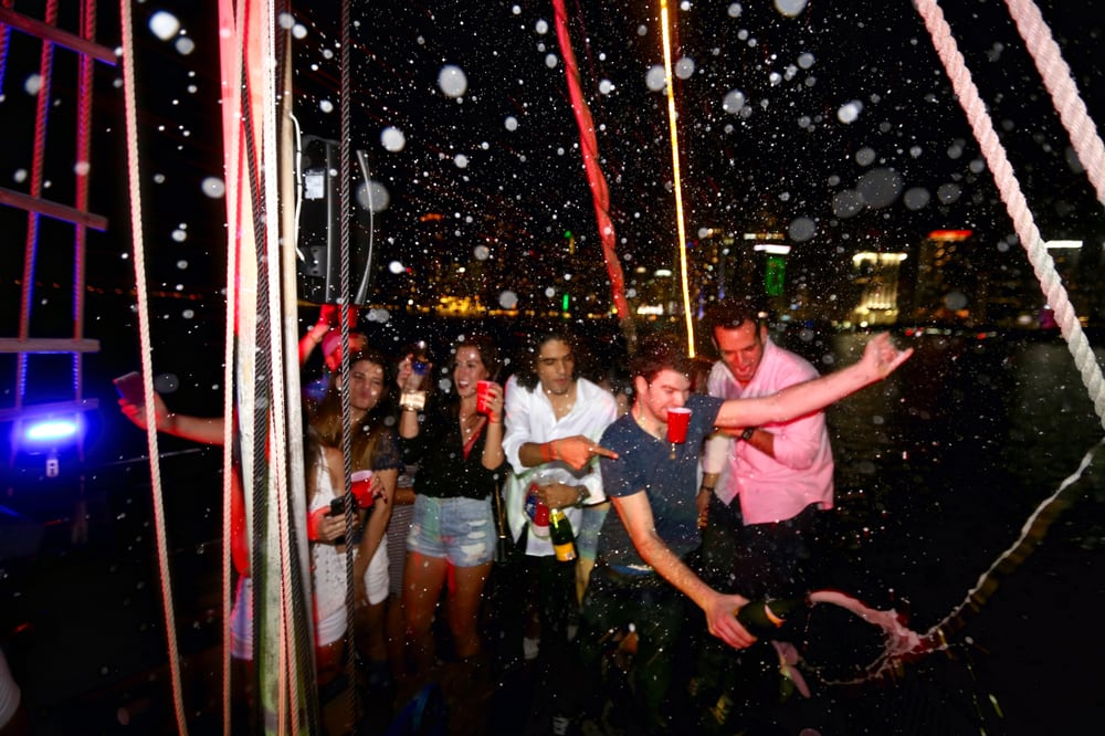 Miami Party Boat: 401 Biscayne Blvd Bayside Market Pl, Miami, FL