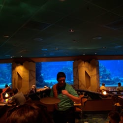 underwater restaurant disney world. Photo Of Coral Reef - Lake Buena Vista, FL, United States Underwater Restaurant Disney World I