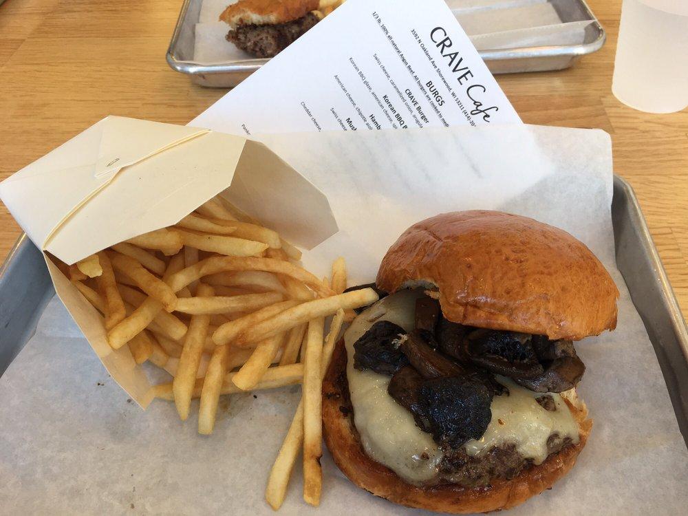 Crave Cafe: 3592 N Oakland Ave, Shorewood, WI