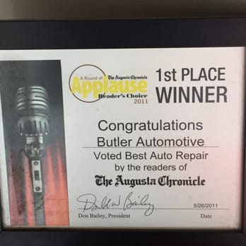 Photo of Butler Automotive - Augusta, GA, United States. Good to know others