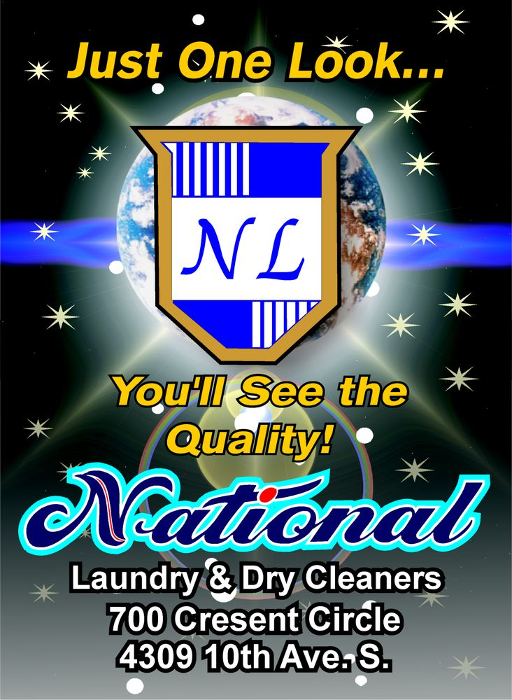 National Laundry & Cleaners: 700 Crescent Cir, Great Falls, MT