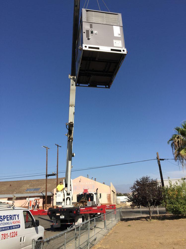 Prosperity Air Conditioning: 1650 S Legget St, Porterville, CA