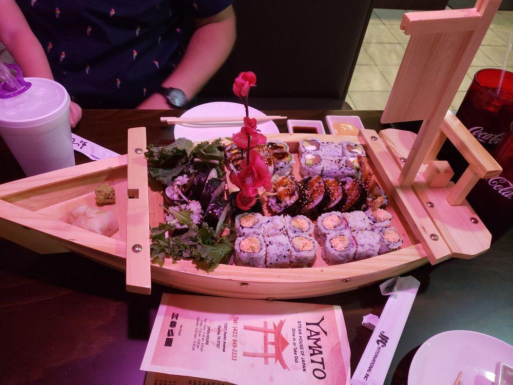 Yamato - Steak House of Japan: 15271 Rankin Ave, Dunlap, TN
