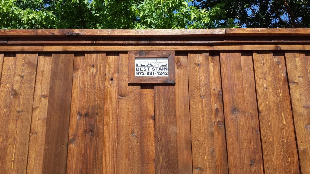 Allen Tx Cedar Fence Installation Fence Staining Allen Tx