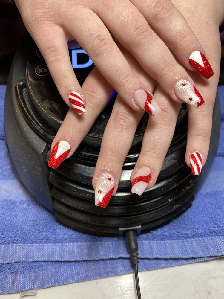 U.S Nails: 2921 N Center St, Maryville, IL