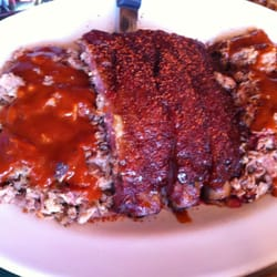 Foto van The Bar-B-Q Shop - Memphis, TN, Verenigde Staten. Glazed ribs ...