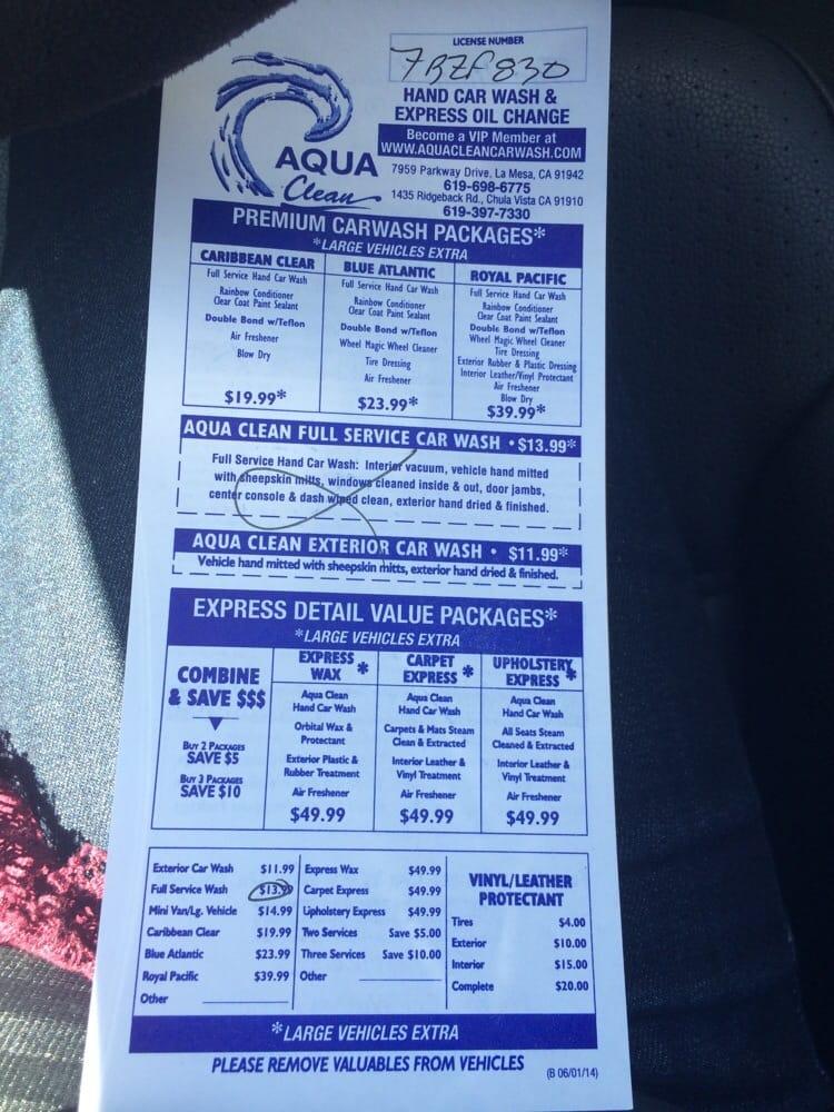 Car Wash Vista Ca