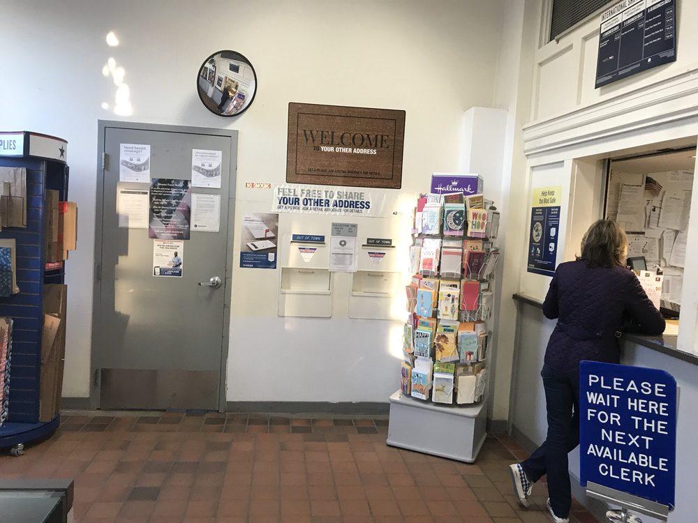 US Post Office: 10 Park Ave, Caldwell, NJ