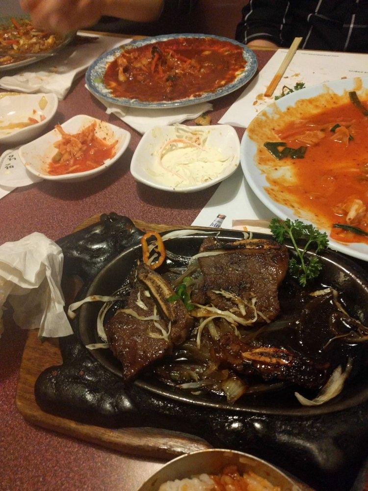 Food from Man Nam Korean Restaurant