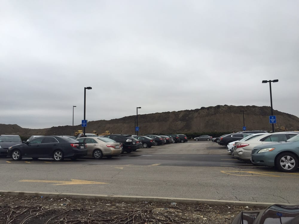 O Hare Parking >> O Hare International Cell Phone Lot Parking Recirculation Rd