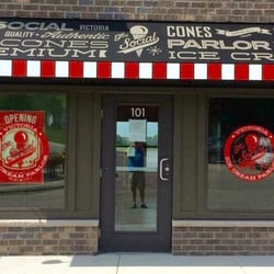 Photo Of The Social Ice Cream Parlor Victoria Mn United States