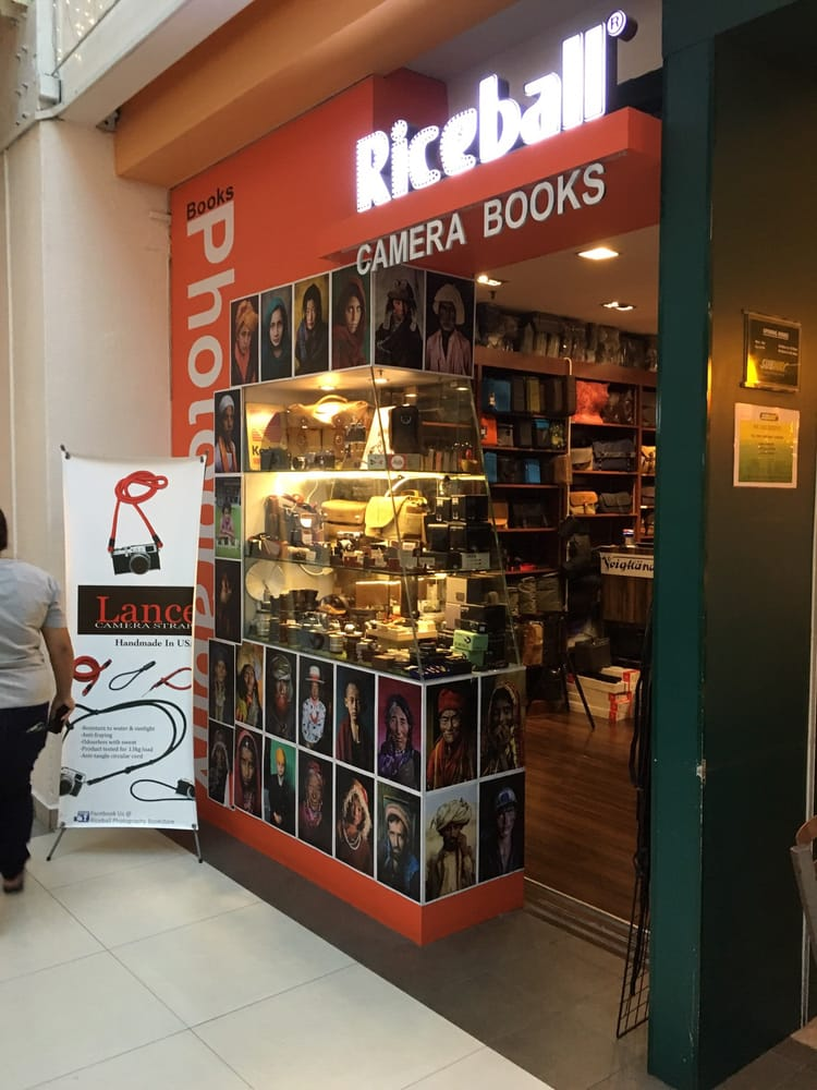 RiceBall Photography Bookstore Singapore