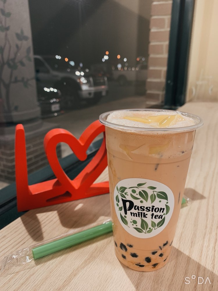 Food from Passion milk tea
