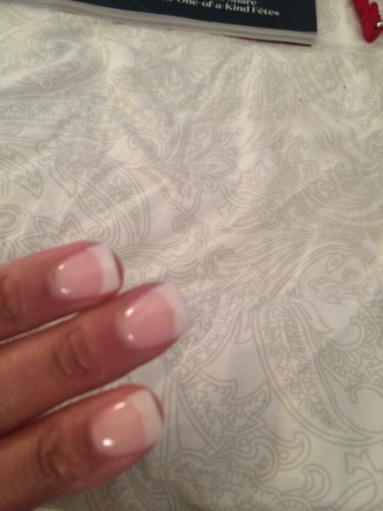 NextGen nails french tip. - Yelp