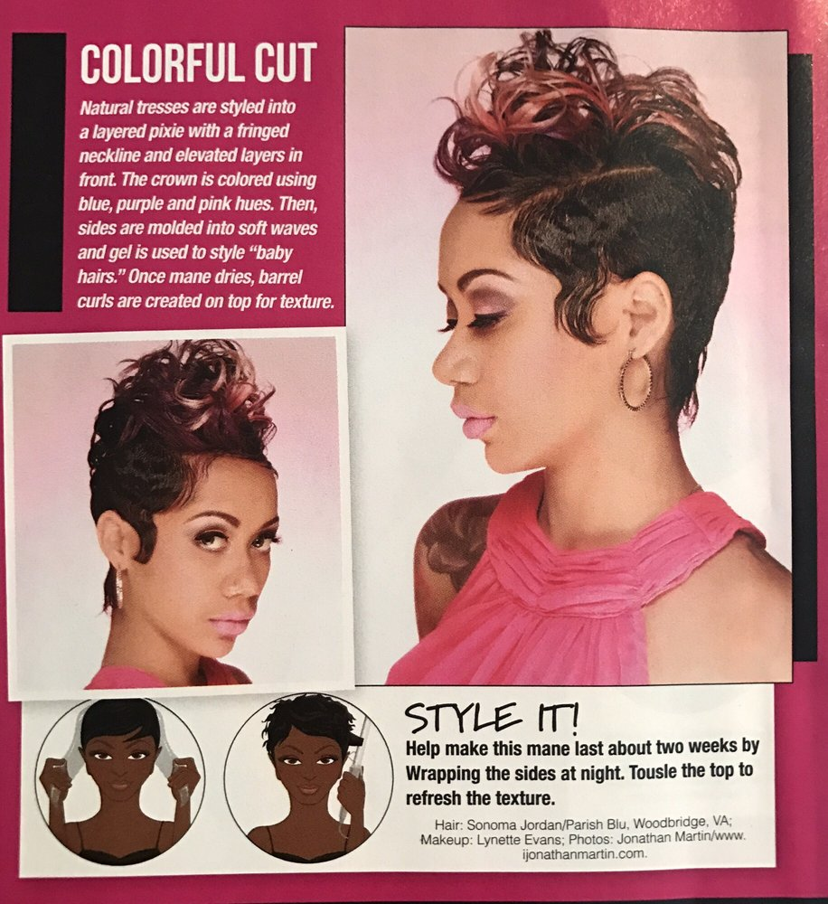Featured For The Third Time In Sophisticate Black Hair Magazine