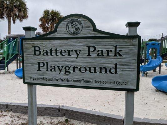 Battery Park near St. George Island in St. George Island, FL