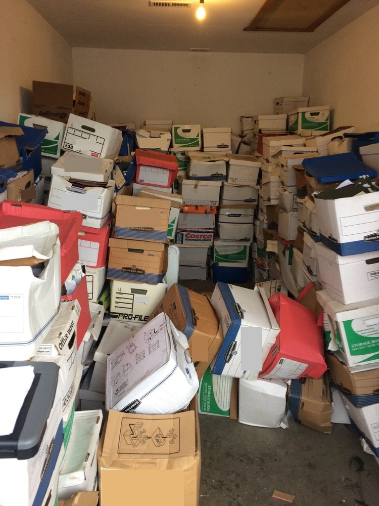 Photo of Savvy Junk Removal - Olympia WA United States. Storage Unit Cleanout & Storage Unit Cleanout Before - Yelp