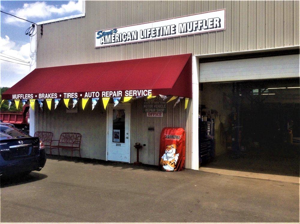 Steve's American Lifetime Muffler: 2372 Corning Rd, Elmira, NY