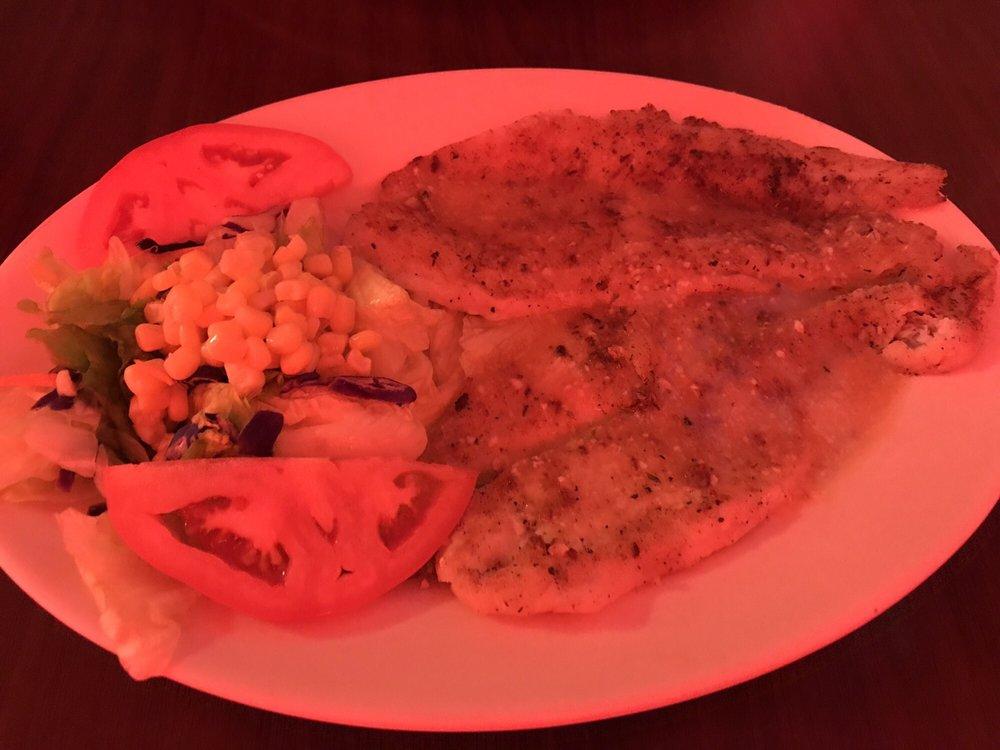 Food from Freddy's Restaurant
