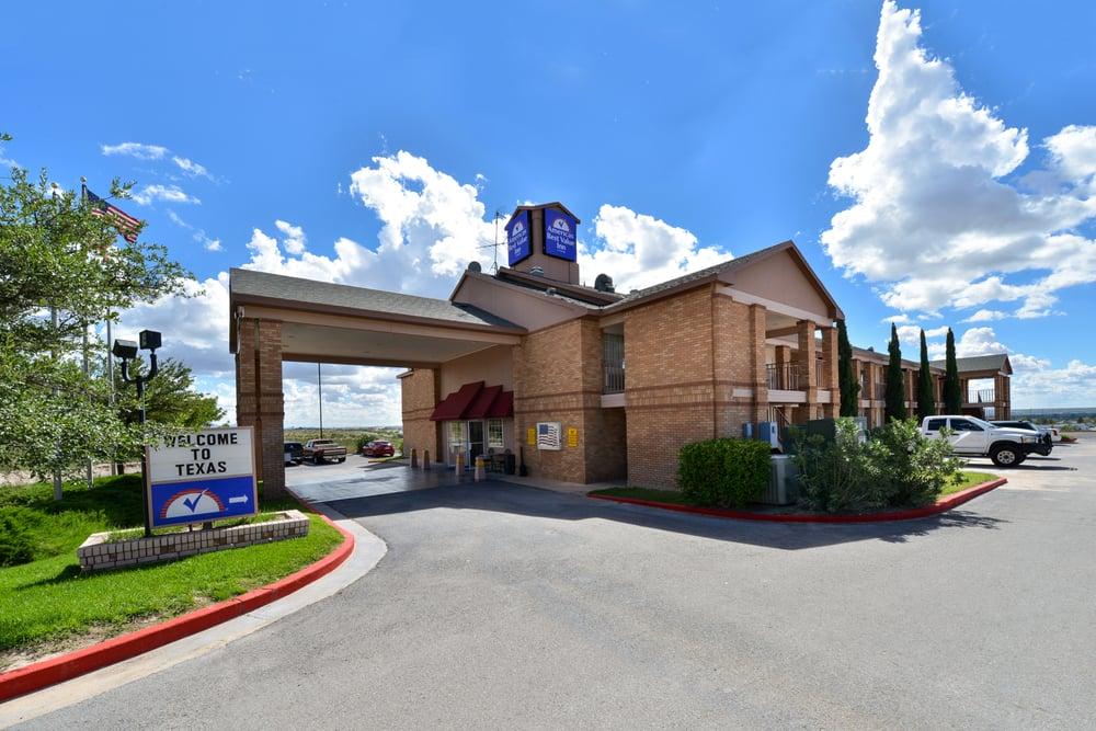 Americas Best Value Inn-Anthony/El Paso West: 100 Park N Dr, Anthony, TX