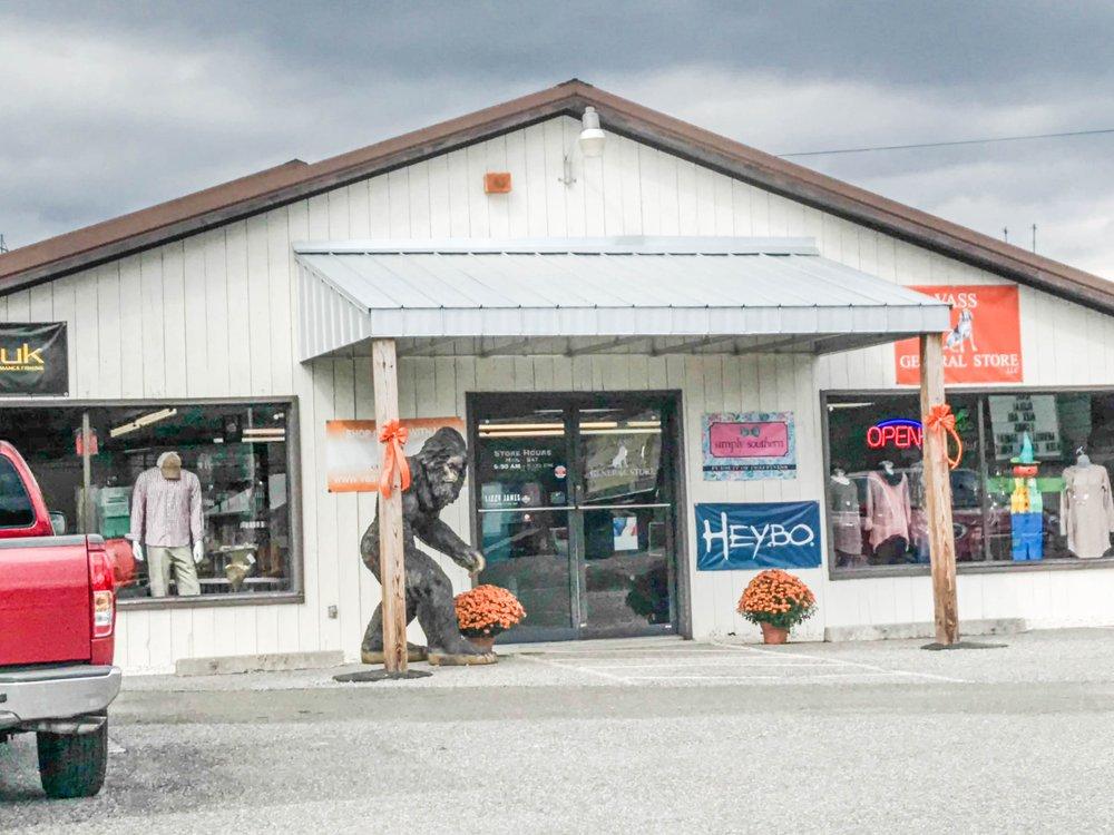Vass General Store: 1268 W Stuart Dr, Hillsville, VA