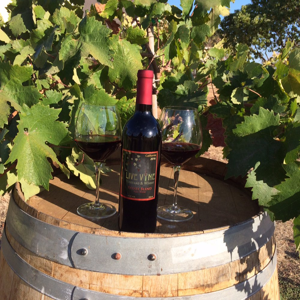 LIVE VINE Vineyard & Winery: 652 Luds Way, Oroville, CA