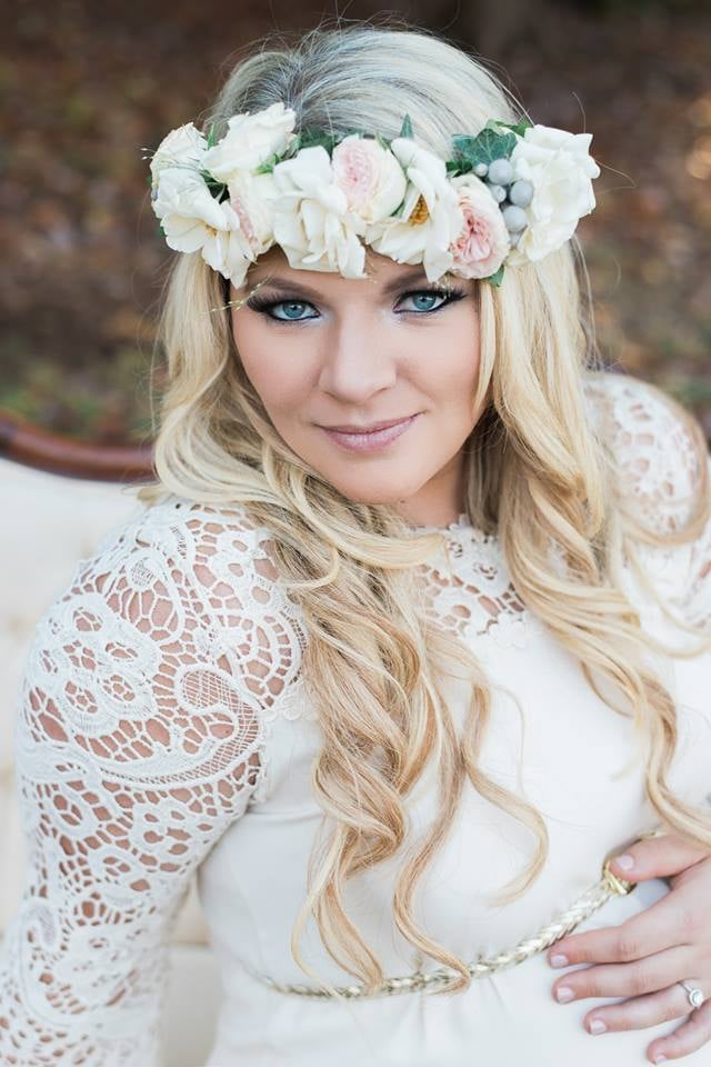 Maternity Shoot Flower Crown - Bridget Rochelle Photography - Yelp 355dbc9c28f