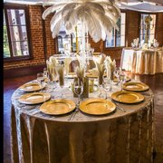 Vows Photo Of Life Arts Center Riverside Ca United States Ostrich Feather Centerpieces