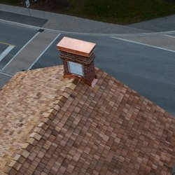 Photo Of Findlay Roofing   Georgetown, ON, Canada. Custom Hand Crafted  Copper Chimney