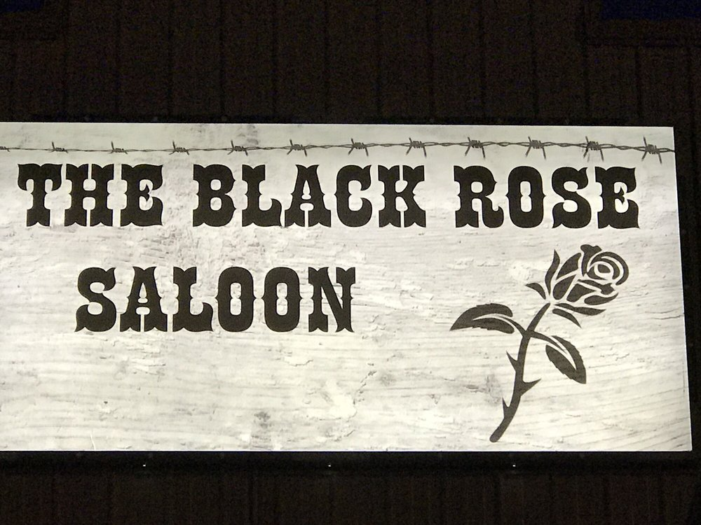 The Black Rose Saloon: 802 E Peru St, Princeton, IL