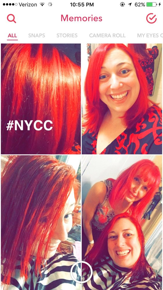 Went Hott Red Ty Gg For All Your Help For This Radiant Red Color