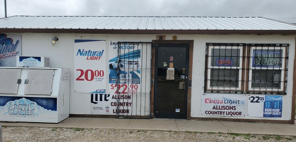 Allison's Country Liquor: 410 US Highway 59, Elsmore, KS