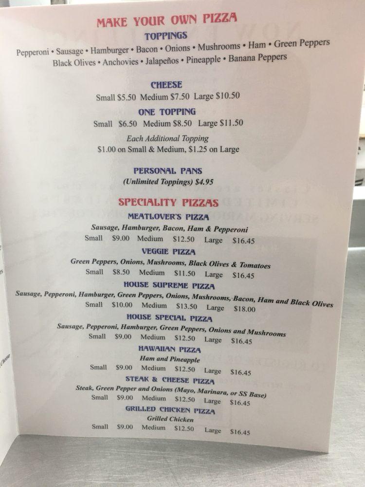 Santino's Pizzas & Subs: 2541 Hwy 501 E, Aynor, SC