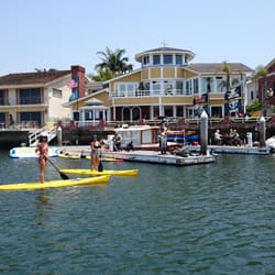 Photo Of Huntington Harbor Stand Up Paddle Boarders Beach Ca United States