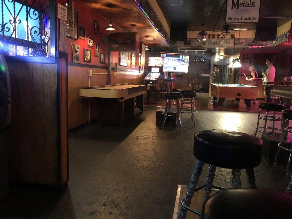 Metals Bar: 514 Cedar St, Wallace, ID
