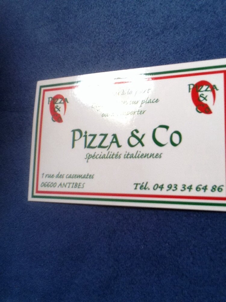 pizza and co pizzer a 1 rue casemates antibes juan les pins alpes maritimes francia. Black Bedroom Furniture Sets. Home Design Ideas