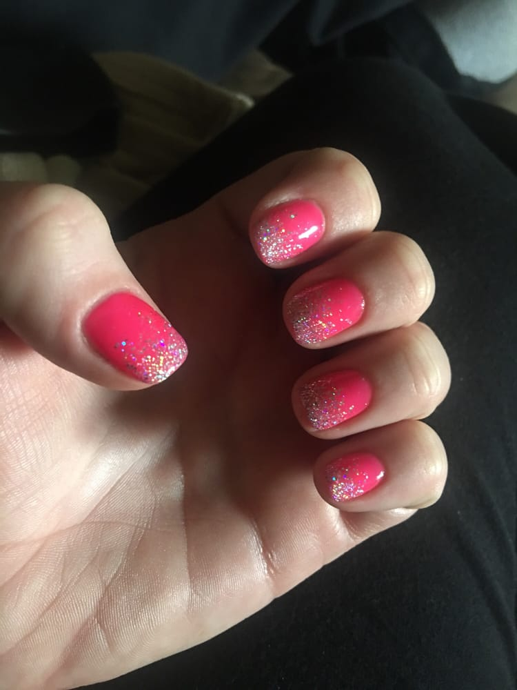 Just Got My Shellac Nails Done Decent Price And Last