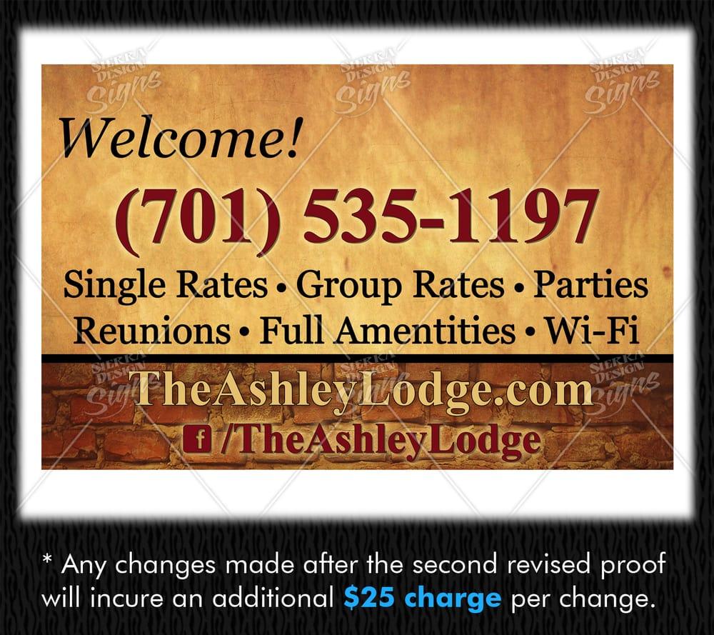 The Ashley Lodge: 301 1st Ave SW, Ashley, ND