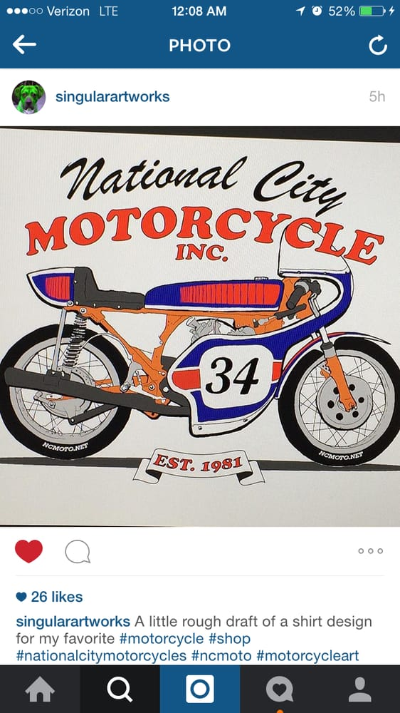National City Motorcycle