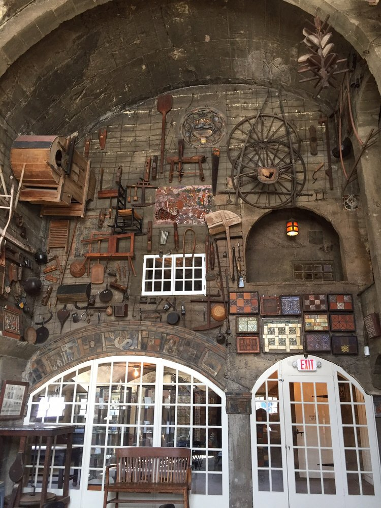 Social Spots from Moravian Pottery & Tile Works