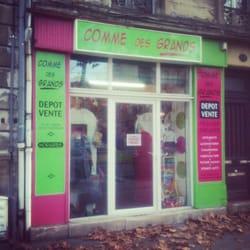 Comme des grands negozi di usato 117 avenue thiers - Cabinet radiologie avenue thiers bordeaux ...