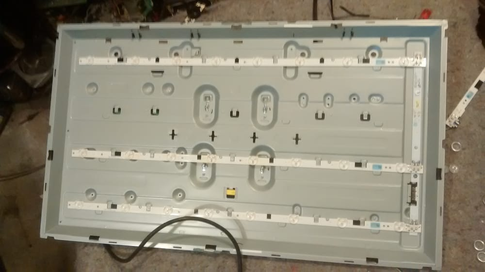 Replace Led Strip In Led Tv Set This Is A Led Tv All Taken
