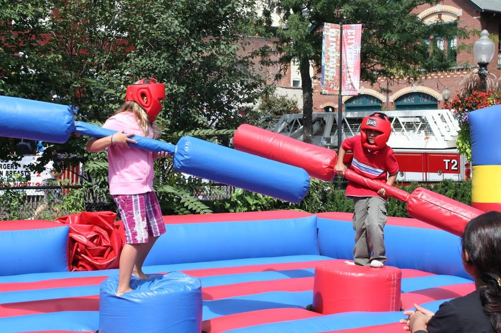 Kids Thur Adults Always Enjoy Our Jousting Game Yelp