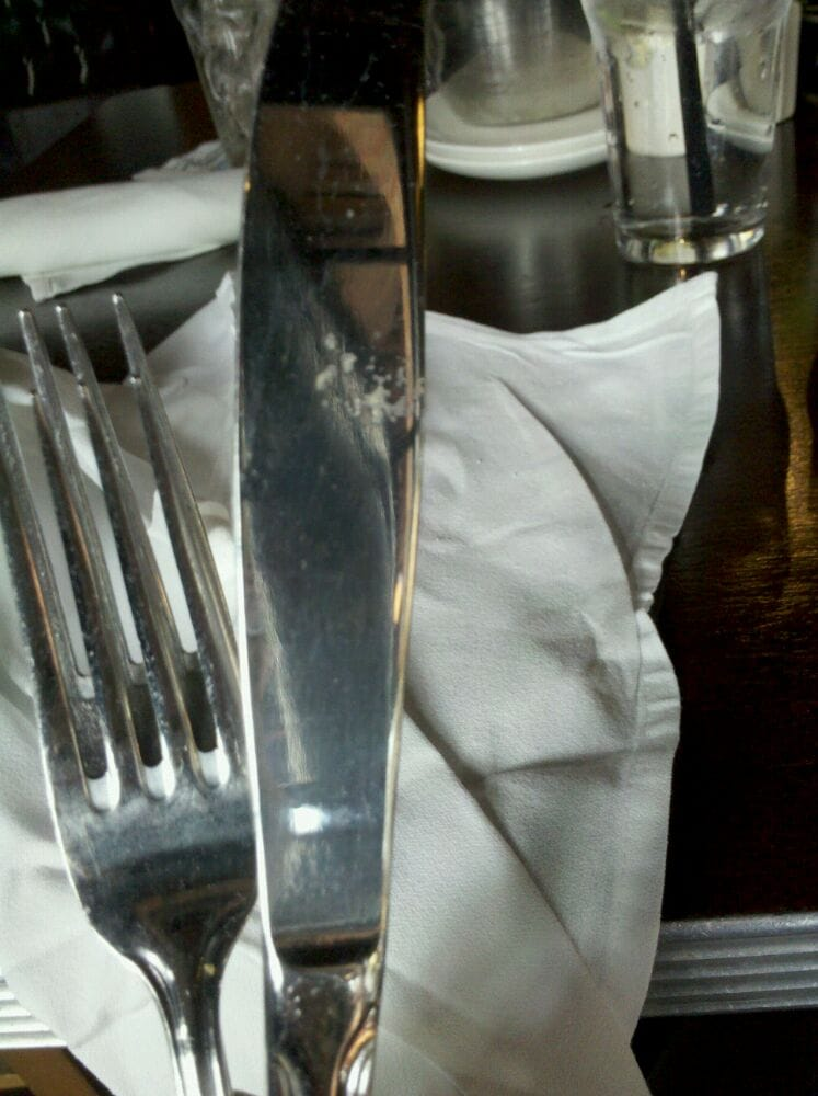 My dirty cutlery just so you know i 39 m not all crazy and for King s fish house laguna hills
