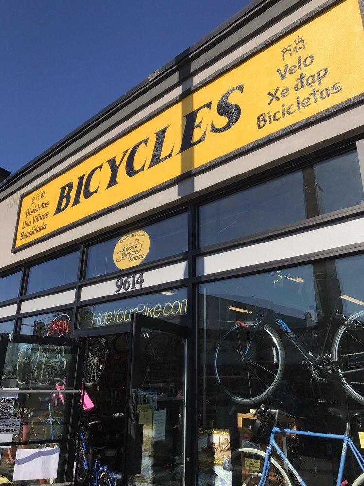 Aaron's Bicycle Repair