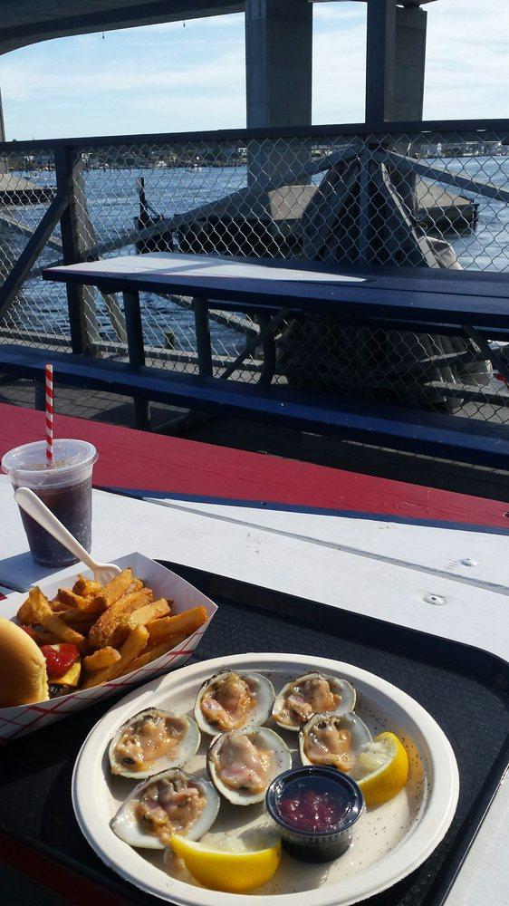 Moby's Lobster Deck: 2 Bay Ave, Highlands, NJ