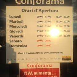 quality design bf251 4382c Conforama Italia - Shopping Centers - Viale Delle Scienze 20 ...